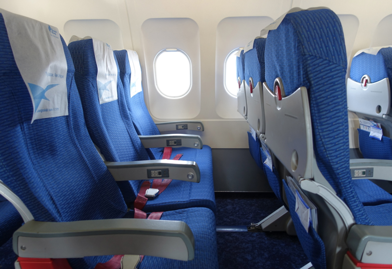 Bangkok Airways Review - Economy Seats