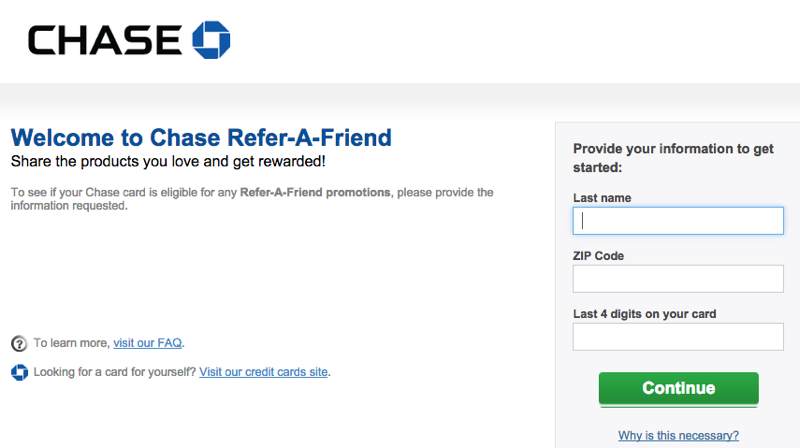 Chase Refer a Friend: Up to 50,000 Ultimate Rewards Bonus Points