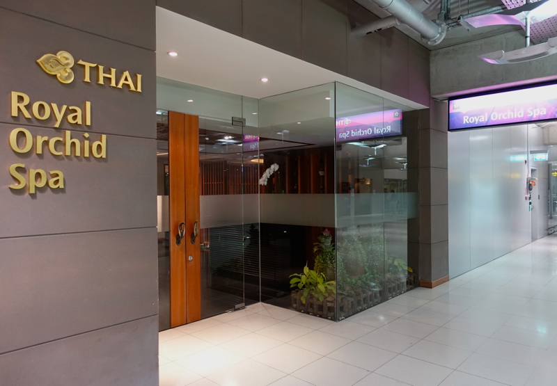 Thai Royal Orchid Spa Bangkok Review - Entrance