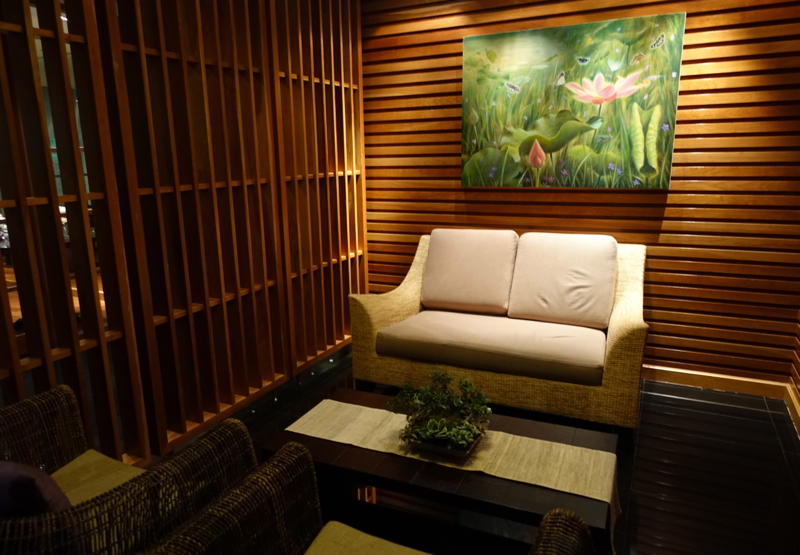 Thai Royal Orchid Spa Review-Lounge Waiting Room