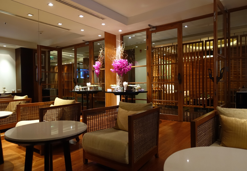 Thai Royal Orchid Spa Bangkok Review - Relaxation Room