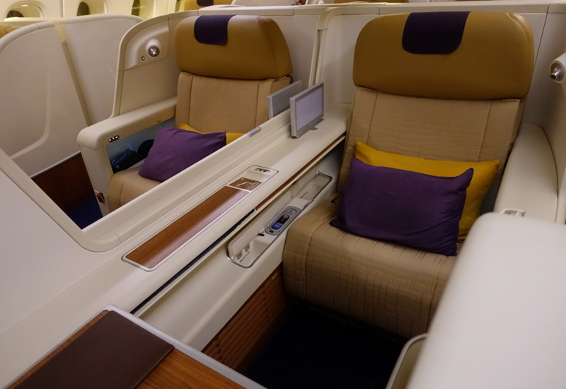 Thai Airways A380 First Class Seat