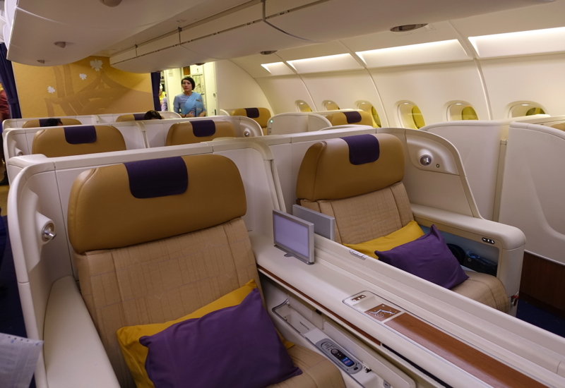 Thai Airways First Class A380 Review