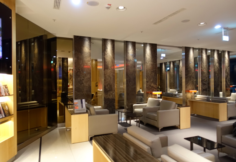 Review-Air Canada Maple Leaf Lounge Frankfurt - Seating