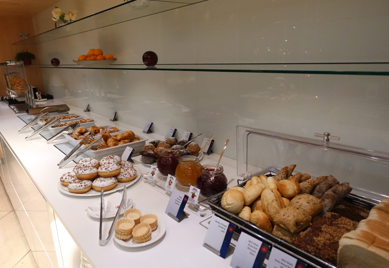 Breads and Pastries, Air Canada Maple Leaf Lounge, Frankfurt