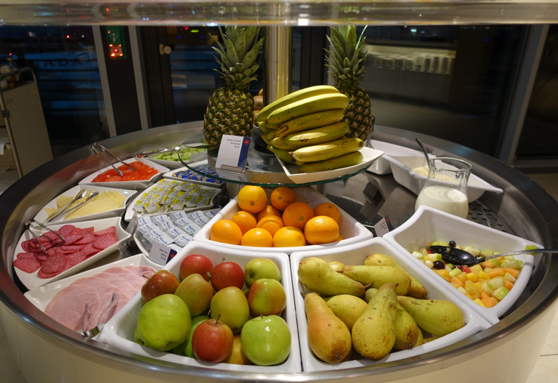 Review-Air Canada Maple Leaf Lounge Frankfurt - Fresh Fruit
