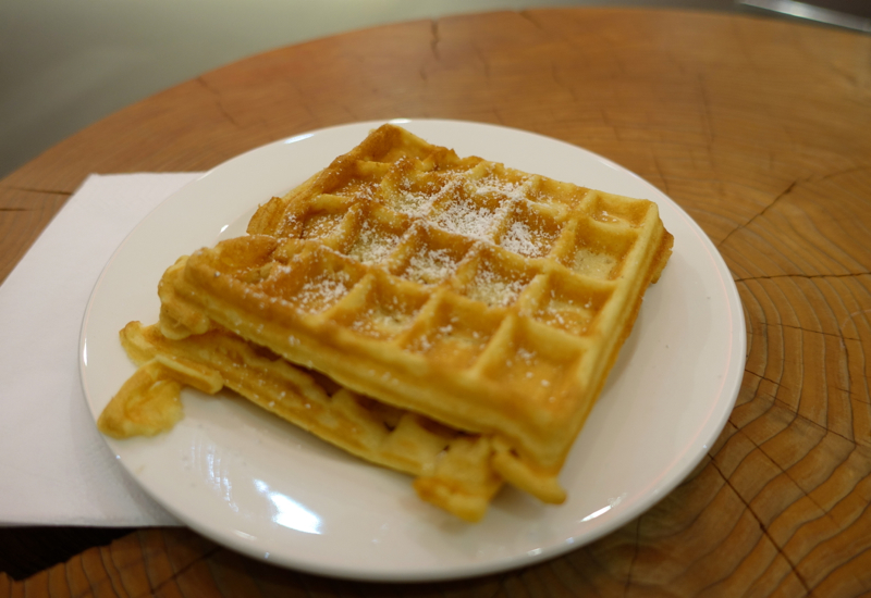 Belgian Waffles (Not Made by Me)