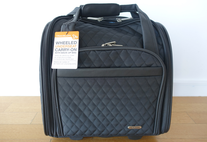 Best Carry On Roller Bag? Review of Travelon Wheeled Underseat ...