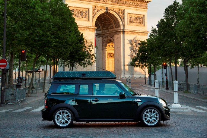 Best Luxury Hotel House Cars: The Peninsula Paris Mini Cooper for Suite Guests