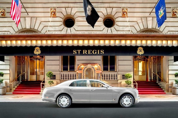The St. Regis New York: 3rd Night Free + Luxury Privileges Benefits