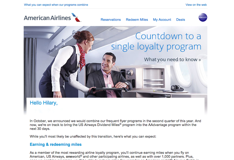 AAdvantage and Dividend Miles Merging in April and FAQ