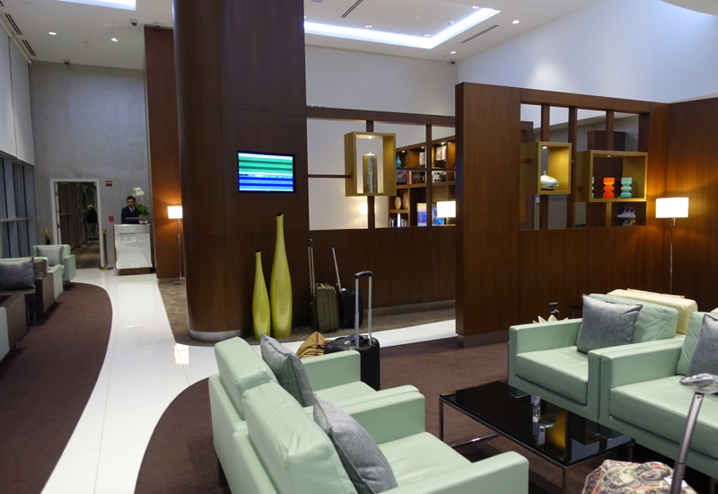 Etihad Lounge Seating, Washington Dulles IAD