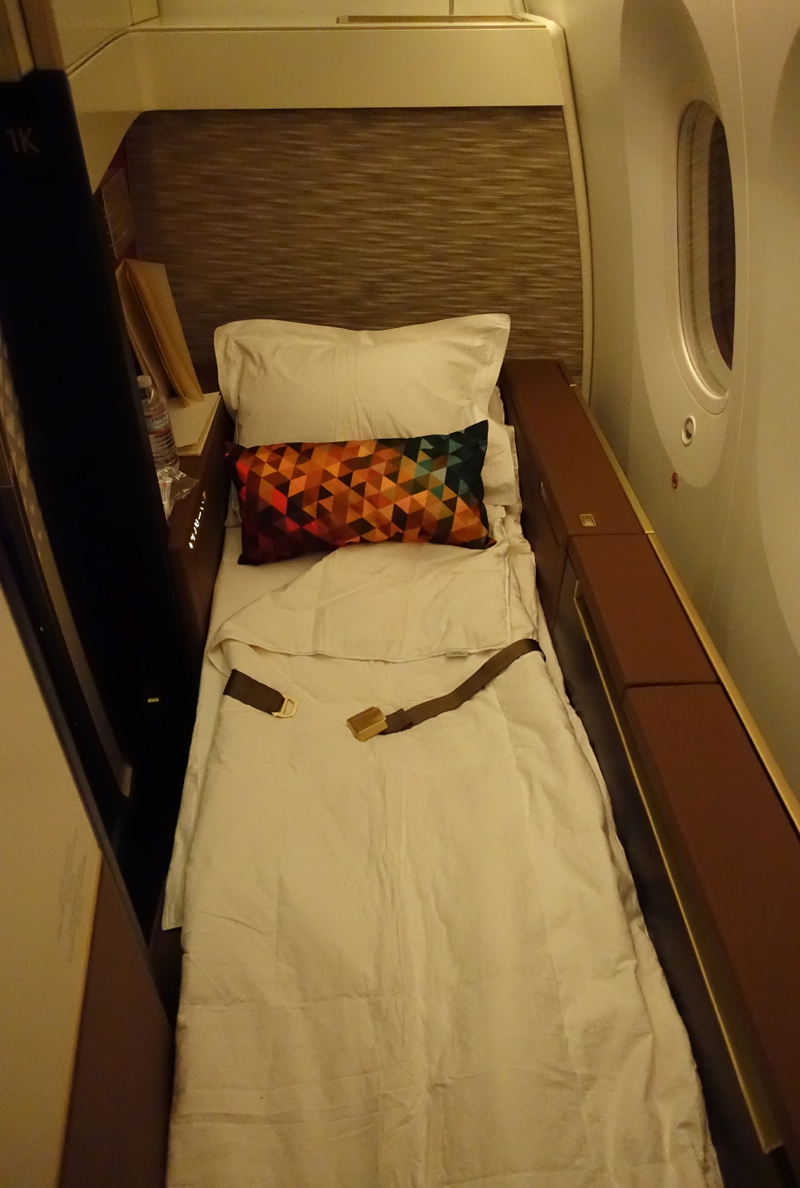 Etihad First Class Bed, 787-9