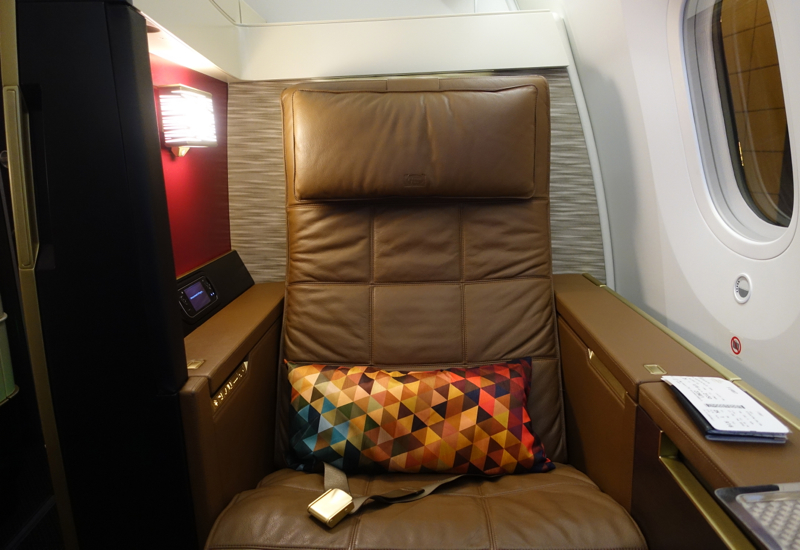 Etihad First Class Seat Review - 787-9