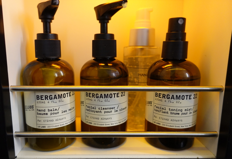 Etihad First Class Bathroom Le Labo Bergamote 22 Products