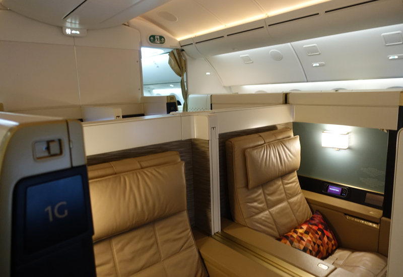 Etihad First Class Suite 787-9 Review - First Class Cabin