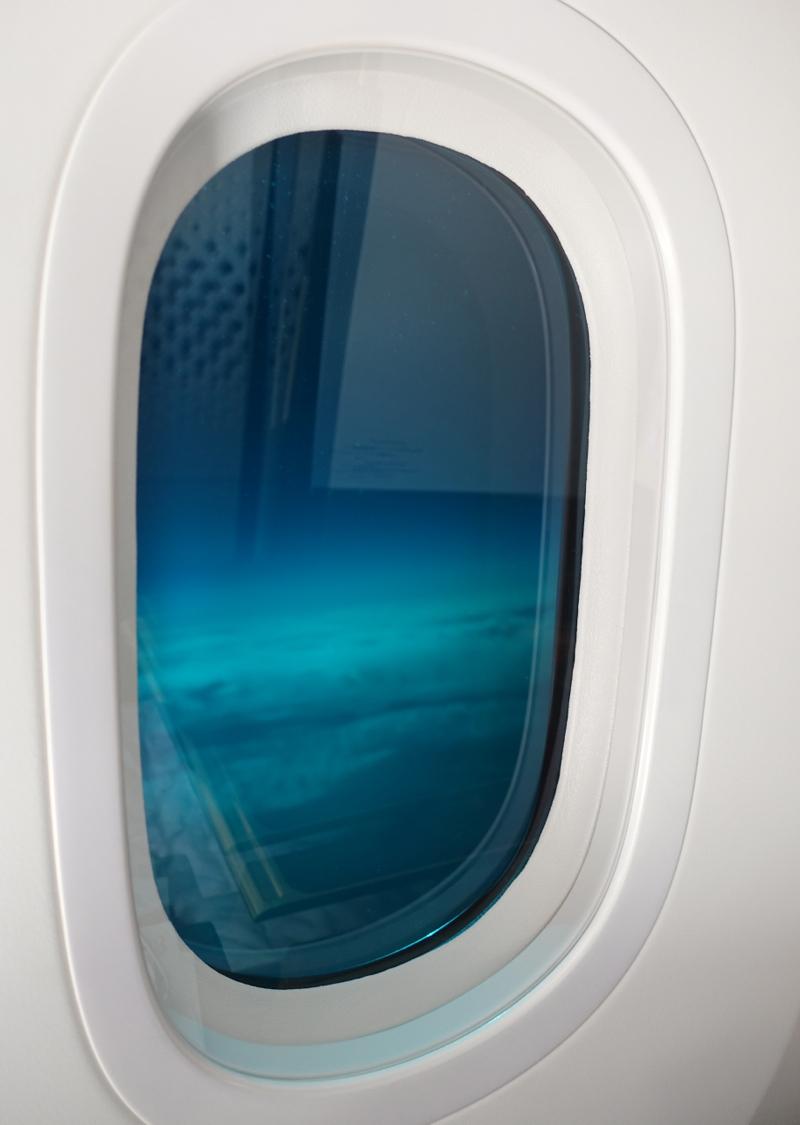 Tinted Window, Etihad First Class, 787-9