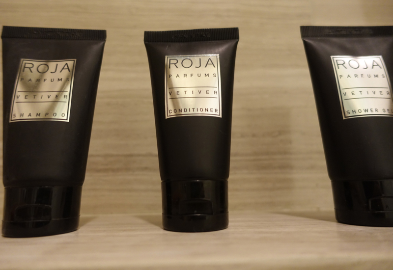 Roja Parfums Vetiver Bath Products, Rosewood Abu Dhabi