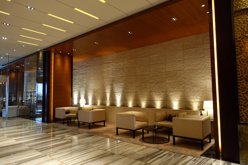 Rosewood Abu Dhabi Review - Lobby Seating