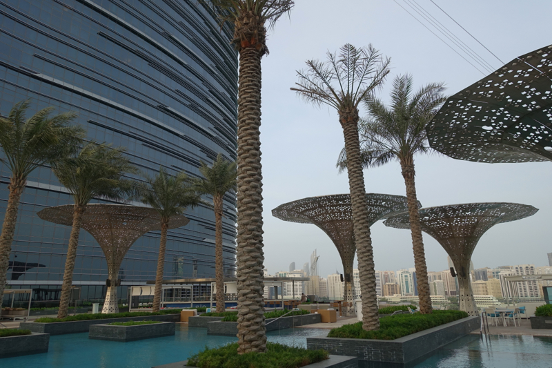 Rosewood Abu Dhabi Review - Hotel and Outdoor Pool