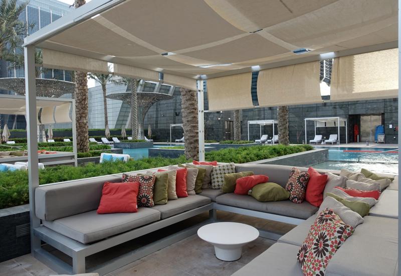 Pool Cabana, Rosewood Abu Dhabi