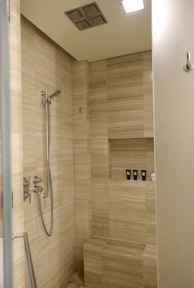 Rosewood Abu Dhabi Review - Rain Shower