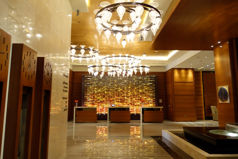 Rosewood Abu Dhabi Review-Reception and Lobby
