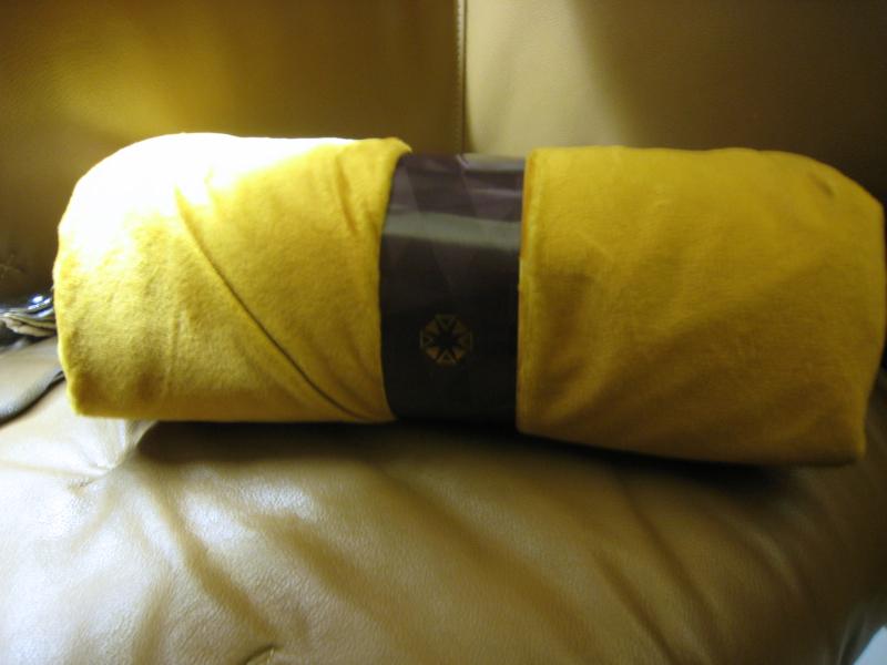 Etihad First Class Blanket