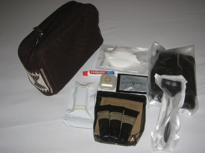 Etihad First Class Amenity Kit for Men