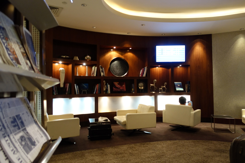 Review-Etihad Business Class Lounge Abu Dhabi Terminal 1