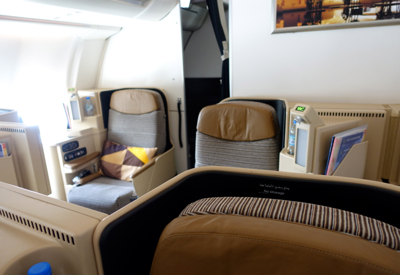 Review-Etihad Business Class Cabin A330-200