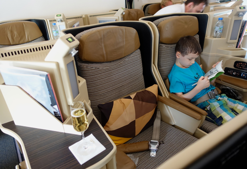 Etihad A330-200 Business Class Review