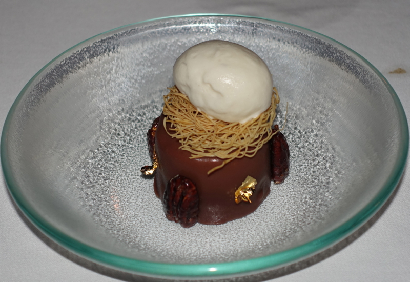 Paolo's Argan Oil Brownie with Cardamom Ice Cream, Al Barakat