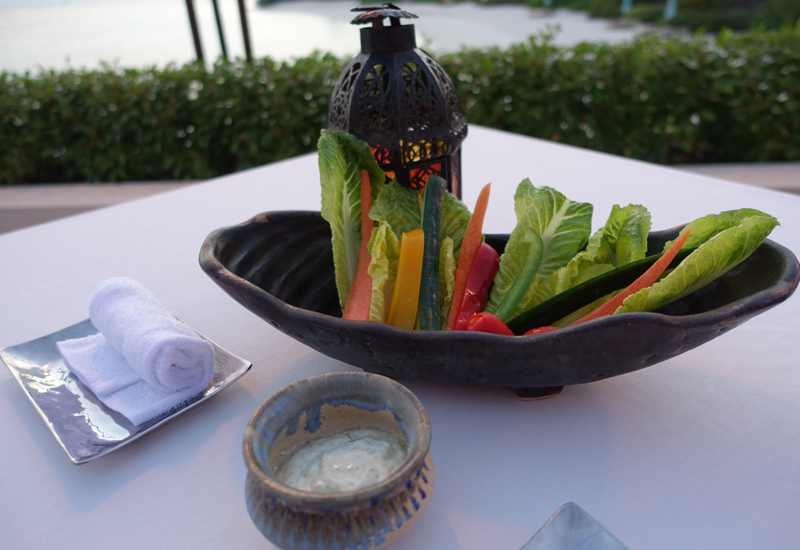 Crudites and Dip, Al Barakat