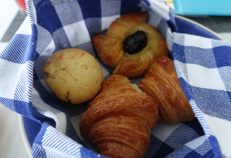 Croissants and Pastries, Blu Restaurant, FS Landaa Giraavaru