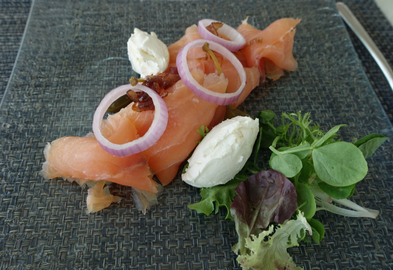 Smoked Salmon, Blu Restaurant