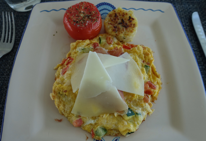 Frittata Sarda, Blu Restaurant
