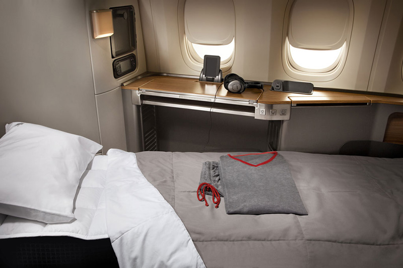 Best Credit Cards to Pay for Wedding to Earn First Class Award Travel to Europe-AA New First Class