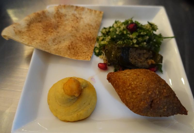 Arabic Mezze, Etihad