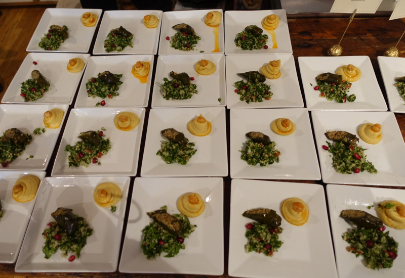 Arabic Mezze, Etihad Flavors of Arabia Event