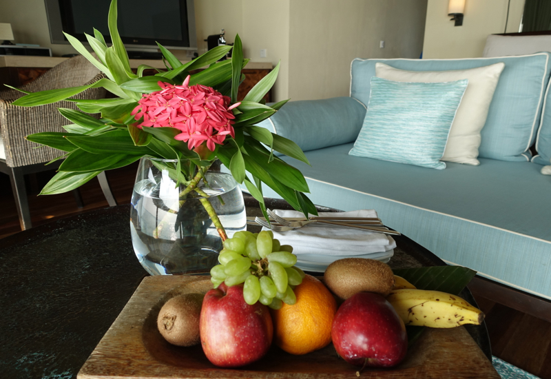 Fruit Welcome Amenity, Four Seasons Maldives at Kuda Huraa