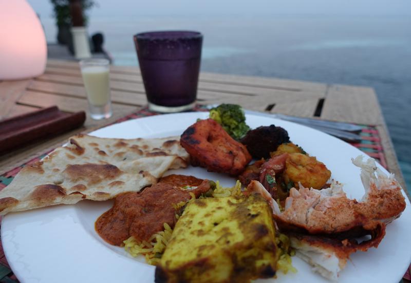 Fantastic Indian Food at Baraabaru, Four Seasons Maldives at Kuda Huraa