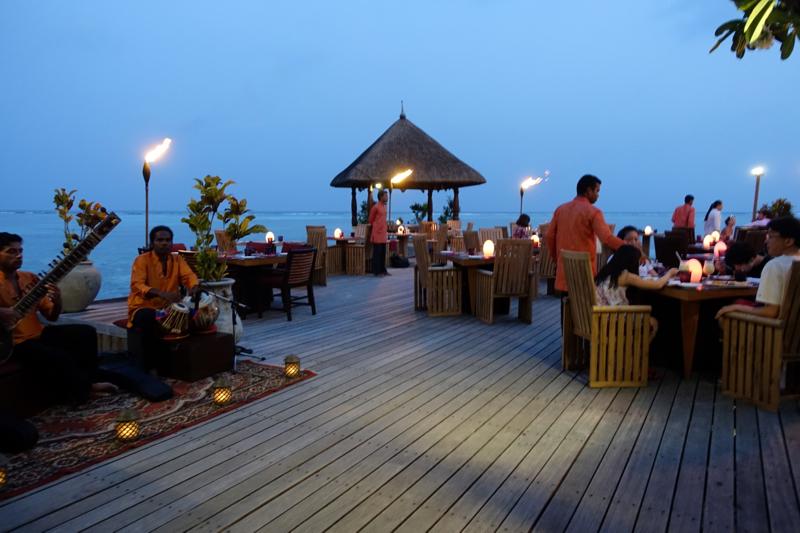 Baraabaru Indian Buffet Night, Four Seasons Maldives at Kuda Huraa