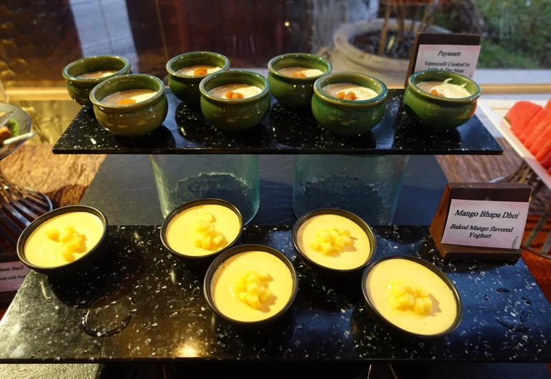 Mango Yogurt Pudding, Baraabaru, Four Seasons Maldives at Kuda Huraa