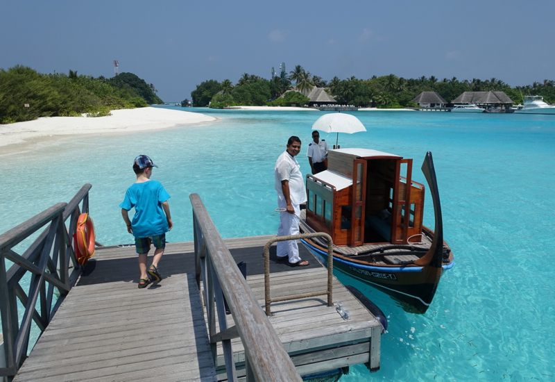 "The Island Spa ""Cutie Boat,"" Four Seasons Maldives at Kuda Huraa"