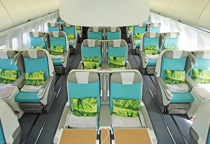 Air Tahiti Nui's New Business Class is Still Angled Flat