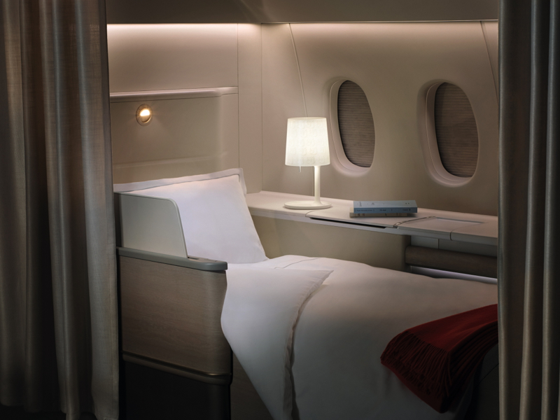 Best First Class Airline Beds: Air France La Premiere with Sofitel My Bed