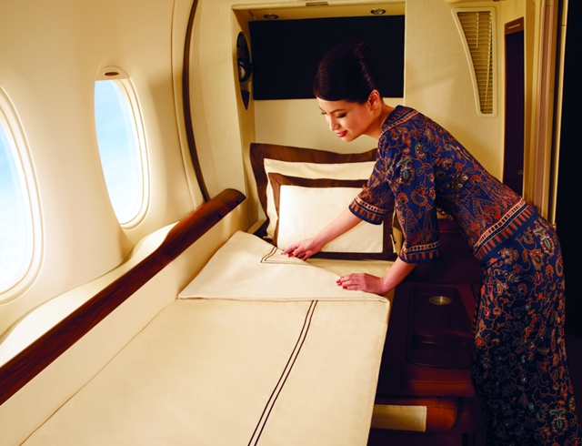 Best First Class Airline Beds