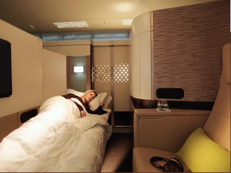 Best First Class Airline Beds: Etihad First Apartment