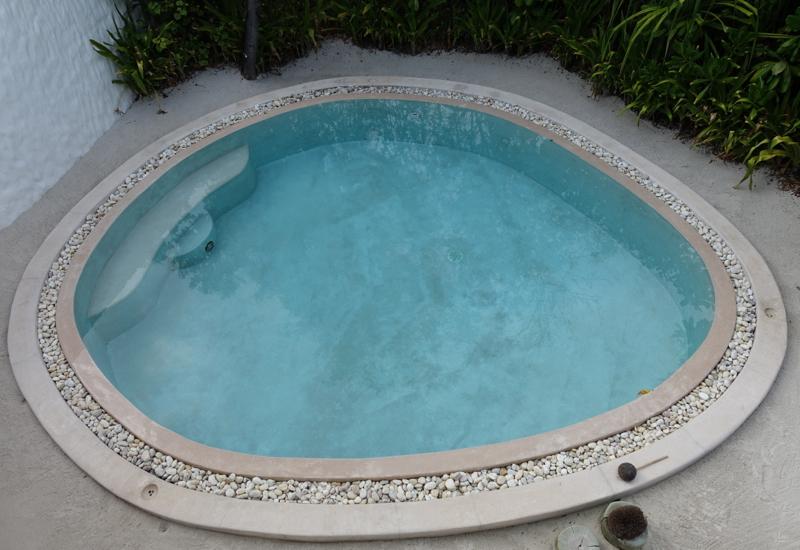 Soneva Fushi Crusoe Villa Pool